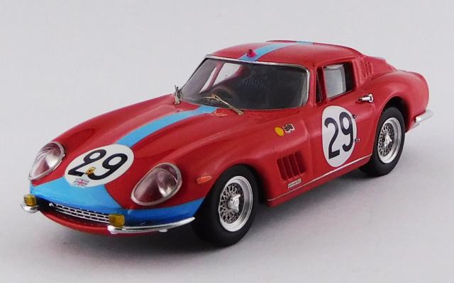 BEST MODEL 1/43 フェラーリ 275 GTB ル・マン24時間 1966 #29 Courage/Pike