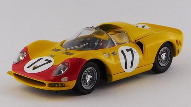 """BEST MODEL 1/43 フェラーリ 365 P2 ル・マン24時間 1966 #17 Dumay/""""Jean Beurlys"""""""