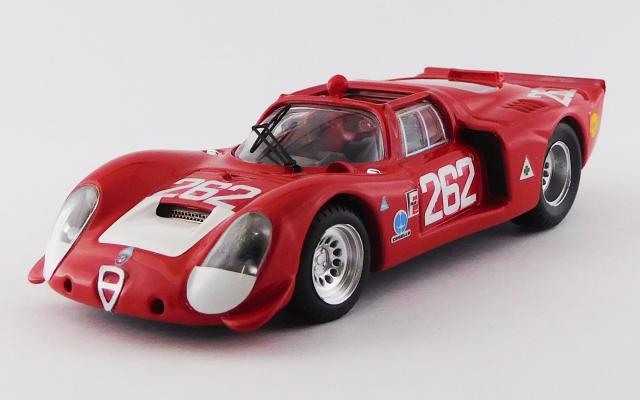 BEST MODEL 1/43 アルファロメオ 33.2 タルガフローリオ 1969