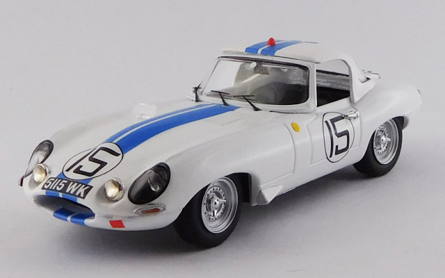 BEST MODEL 1/43 ジャガー E タイプ スパイダー ル・マン24時間 1963 #15 Cunningham/ Grossman