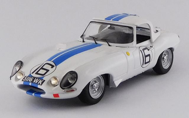 BEST MODEL 1/43 ジャガー E タイプ スパイダー ル・マン24時間 1963 #16 Salvadori/Richards