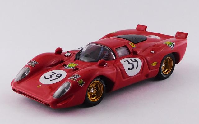 BEST MODEL 1/43 フェラーリ 312P ル・マン 1970 #39 Adamowicz/Posey