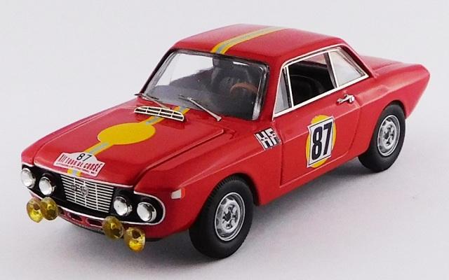 BEST MODEL 1/43 ランチア フルビア クーペ 1.3 HF ツール・ド・コルス 1967 #87 Munari/Lombardini RR:Winner