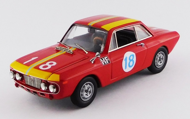 BEST MODEL 1/43 ランチア フルビア クーペ 1.3 HF タルガ フローリオ 1966 #18 Cella/Marzi RR:1°in class GT 1.3