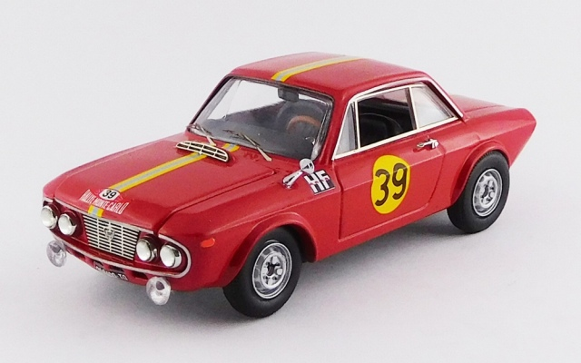 BEST MODEL 1/43 ランチア フルビア クーペ 1.3 HF 第36回 モンテカルロラリー 1967 #39 Andersson/Davmport RR:2nd