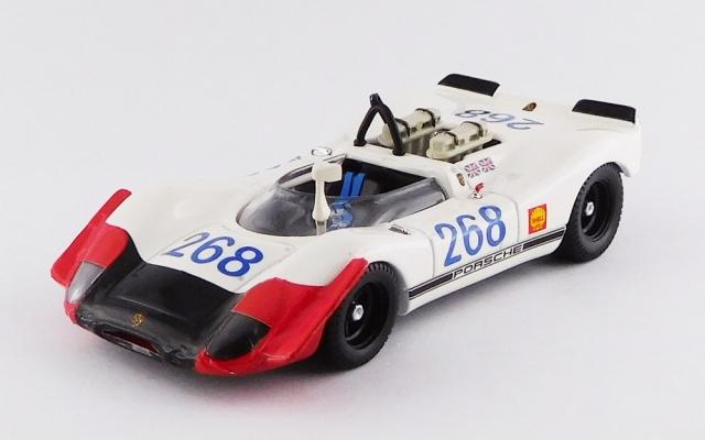 BEST MODEL 1/43 ポルシェ 908-02 タルガ フローリオ 1969 #268 Redman/Attwood