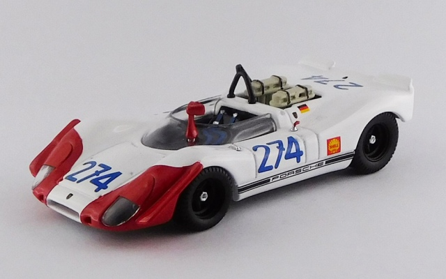 BEST MODEL 1/43 ポルシェ 908-02 タルガ フローリオ 1969 #274 Stommelen/Herrmann RR:3rd