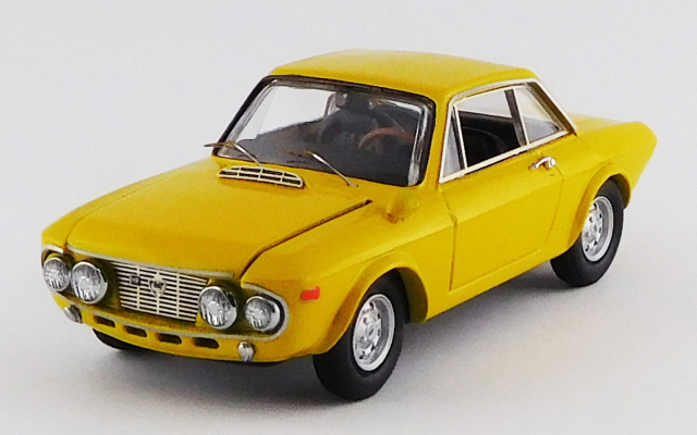 BEST MODEL 1/43 ランチア フルビア クーペ 1600 HF ファナローネ 1968 ストラダーレ イエロー