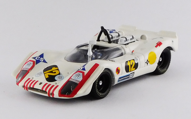 BEST MODEL 1/43 ポルシェ 908/02 1000km ブエノスアイレス 1970 #12 Soler-Roig / Rindt R.R.2nd