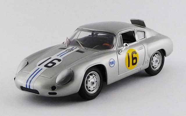 BEST MODEL 1/43 ポルシェ 356 B アバルト デイトナ 3時間 1963 #16 C. Cassel GT 1.6 クラス優勝車