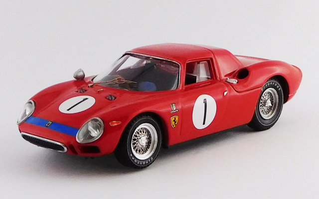 BEST MODEL 1/43 フェラーリ 250 LM パース 6時間 カヴァシャム 1965 #1 マーチン/マッケイ 優勝車