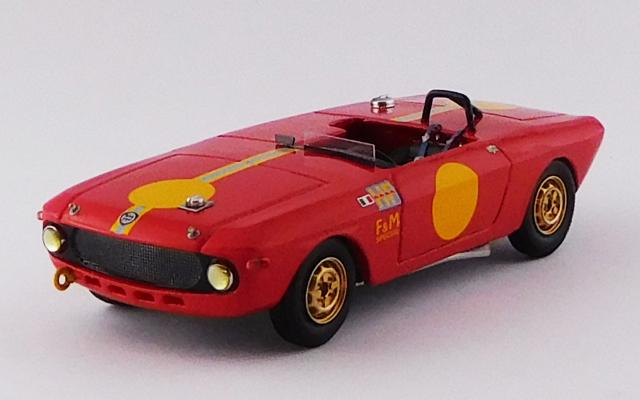 BEST MODEL 1/43 ランチア フルビア F&M スペシャル HF テスト 1967 新規商品 (レジン)