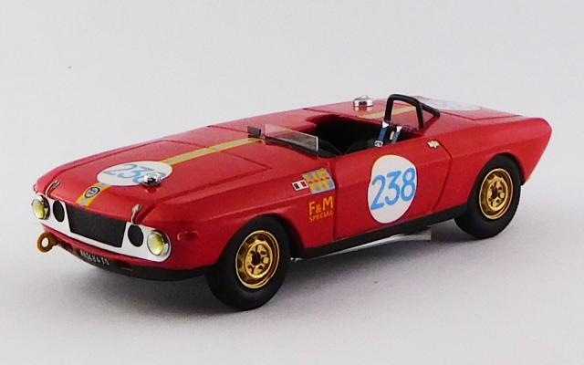 BEST MODEL 1/43 ランチア フルビア F&M スペシャル HF タルガ フローリオ 1969 #238 Munari / Aaltonen R.R.9th (レジン)