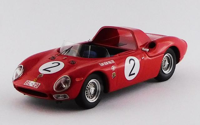 BEST MODEL 1/43 フェラーリ 250 LM スパイダー Pernis von Tirol Innsbruck 1965 #2 Heini Walter R.R.5th,1°in class S2.0