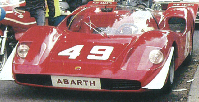 BEST MODEL 1/43 アバルト2000 SE モン・ヴァントゥ 1969 #49 Arturo Merzario 2nd クラス優勝車