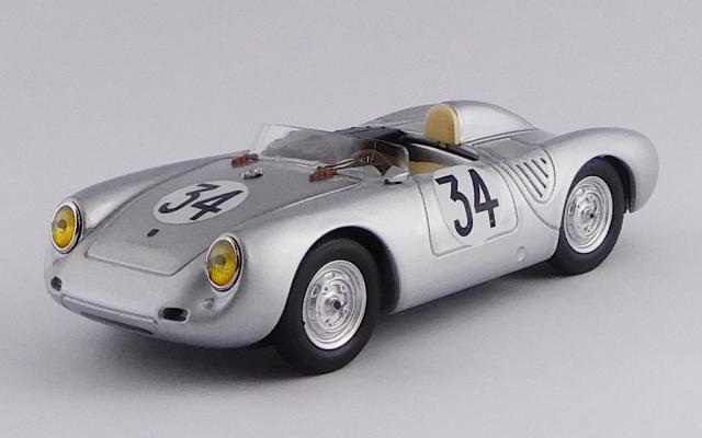 """BEST MODEL 1/43 ポルシェ 550 RS ル・マン 1958 #34 Kerguen/""""Franc"""" R.R. 10th"""