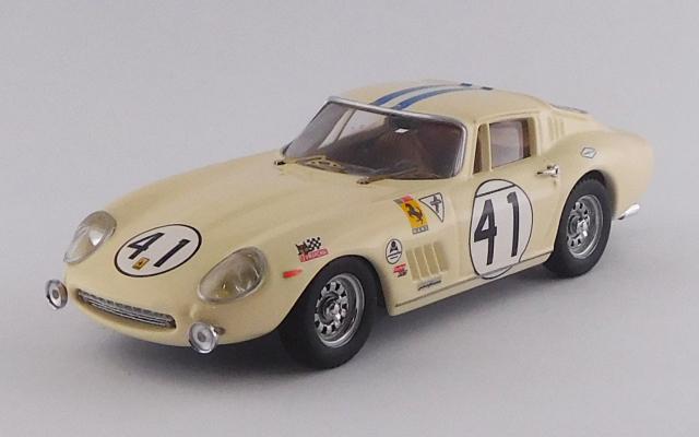 BEST MODEL 1/43 フェラーリ 275 GTB/4 デイトナ24時間 1969 #41  S.Posey/R.Rodriguez