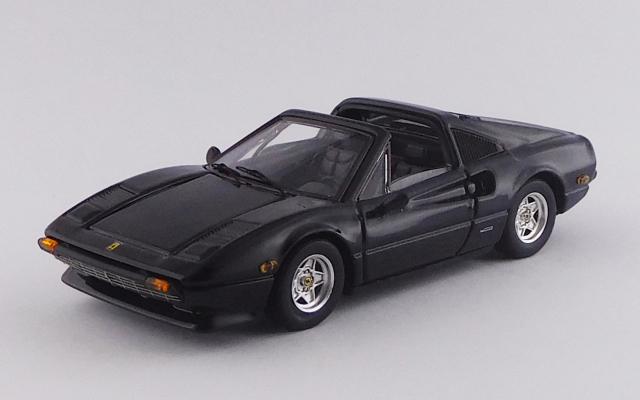 BEST MODEL 1/43 フェラーリ 308 GTS アメリカ仕様 1979 ブラック