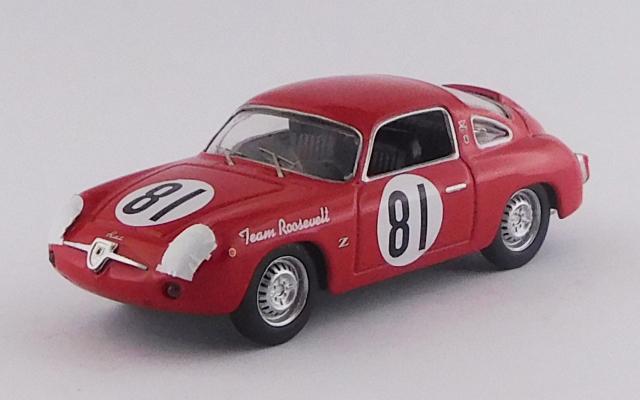 BEST MODEL 1/43 フィアット アバルト 750 レコルト モンツァ SCCA ナショナル カンバーランド 1959 #81 Duncan Black