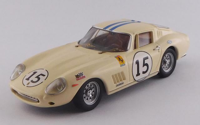 BEST MODEL 1/43 フェラーリ 275 GTB/4 ル・マン テスト 1968 #15 Grossman/Berney