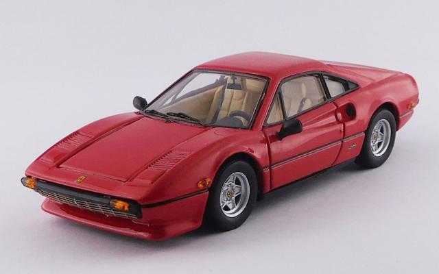 best model 1 43 フェラーリ 308 gtb アメリカバージョン 1976 レッド