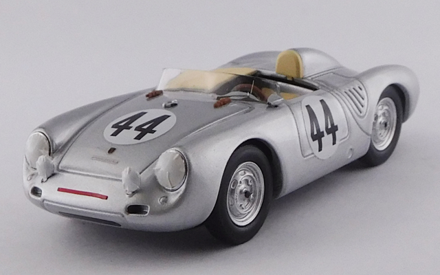 BEST MODEL 1/43 ポルシェ 550 RS セブリング 1957 #44 Bunker/Wallace - 8位 S1.5 クラス優勝車