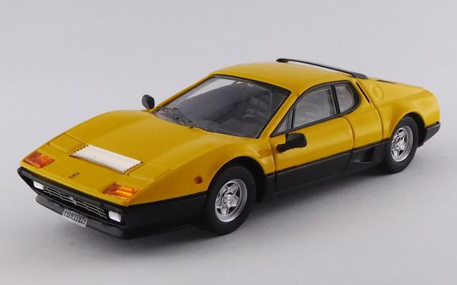 BEST MODEL 1/43 フェラーリ 512 BB 1976 イエロー/ブラック