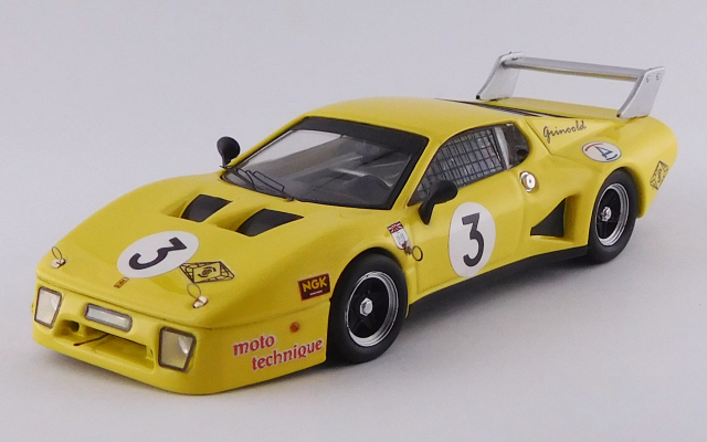 BEST MODEL 1/43 フェラーリ 512 BB LM 富士1000km 1981 #3 Griswold/Bond