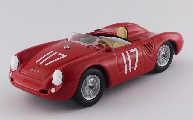 BEST MODEL 1/43 ポルシェ 550 SCCA ナショナル トンプソン 1959 #117 Joe Trotter 9位