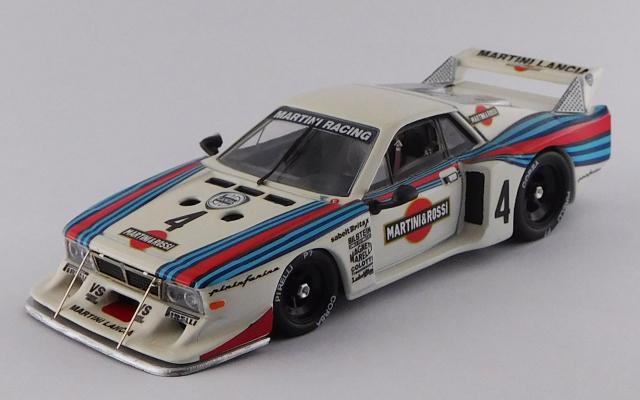 BEST MODEL 1/43 ランチア ベータ モンテカルロ ターボ デイトナ24時間 1981 #4 Alboreto/Ghinzani/Gabbiani