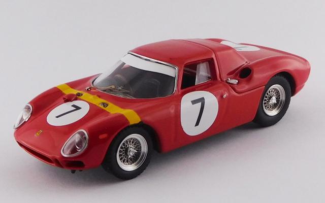 BEST MODEL 1/43 フェラーリ 250 LM G.P.アンゴラ ルアンダ 1964 #7 Willy Mairesse 優勝車