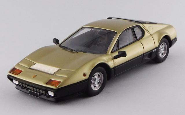 BEST MODEL 1/43 フェラーリ 512 BB 1977 ゴールド/ブラック サザビーオークション 2018