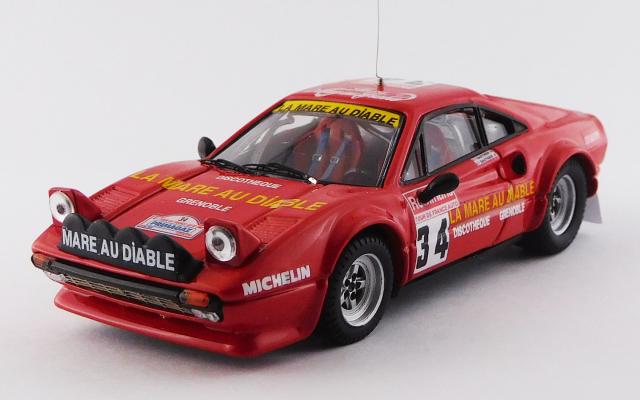 BEST MODEL 1/43 フェラーリ 308 GTB Gr.4 ツールドフランス 1983 #34 Gauthier/Gauthier