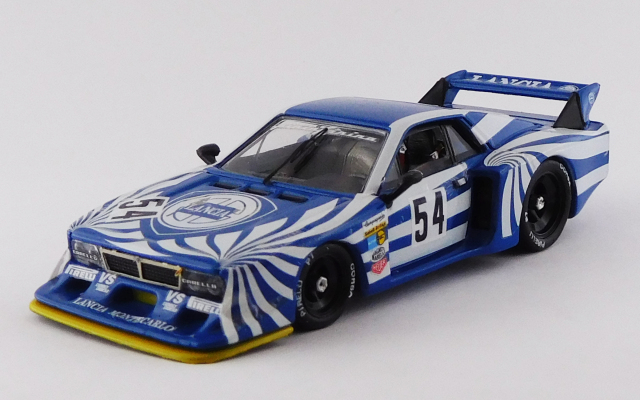 BEST MODEL 1/43 ランチア ベータ モンテカルロ シルバーストーン 6時間レース 1980 #54 Röhrl/Alboret