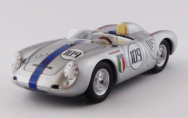 BEST MODEL 1/43 ポルシェ 550 RS ナッソー メモリアル トロフィーレース 1957 #109 Ricardo Rodriguez