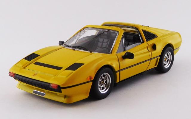 BEST MODEL 1/43 フェラーリ 208 GTS ターボ 1983 イエロー
