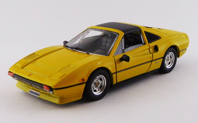 BEST MODEL 1/43 フェラーリ 308 GTSi クアトロバルボーレ 1981 イエロー