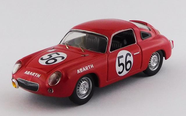BEST MODEL 1/43 フィアット アバルト 700S ル・マン24時間 1961 #56 Bassi/Rigamonti