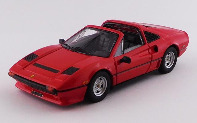 BEST MODEL 1/43 フェラーリ 208 GTS ターボ 1983 レッド