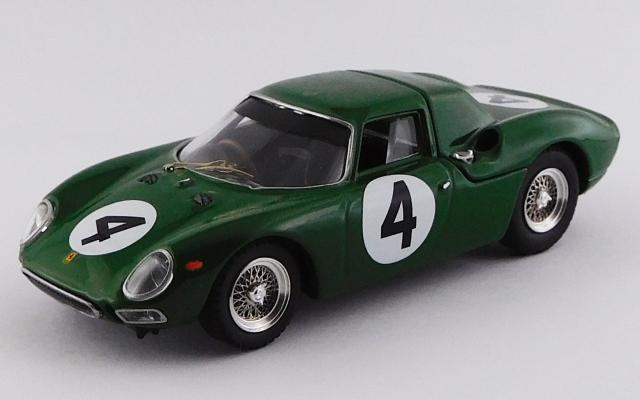 BEST MODEL 1/43 フェラーリ 250 LM 29th R.A.C. International Tourist Trophy 1964 #4 David Piper