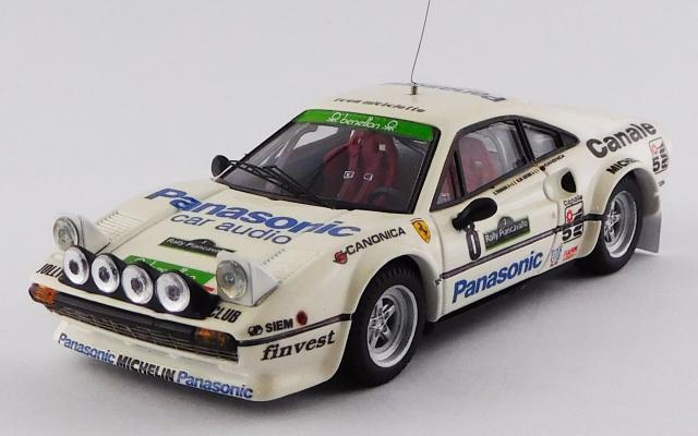 BEST MODEL 1/43 フェラーリ 308 GTB Gr.4 ピアンカヴァロラリー 1982 #8 Tognana/De Antoni 優勝車