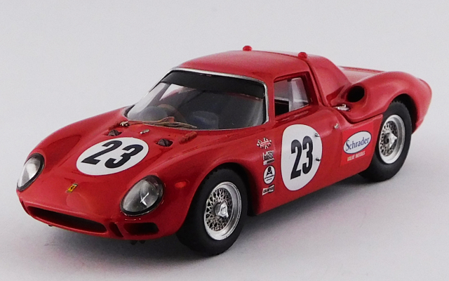 BEST MODEL 1/43 フェラーリ 250 LM デイトナ24時間 1966 #23 Konig/Clarke/Hurt