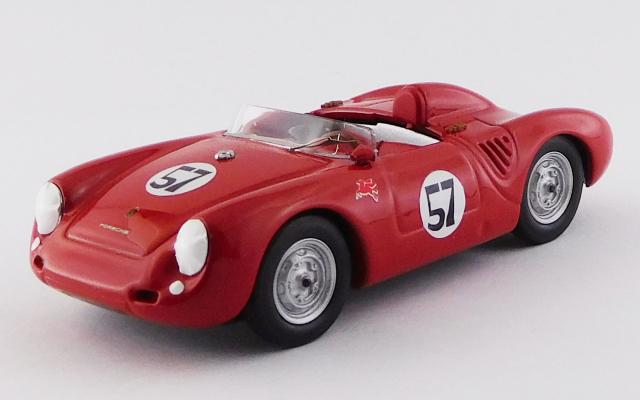 BEST MODEL 1/43 ポルシェ 550 RS パラマウントランチ 1957 #57 Jack McAfee 優勝車