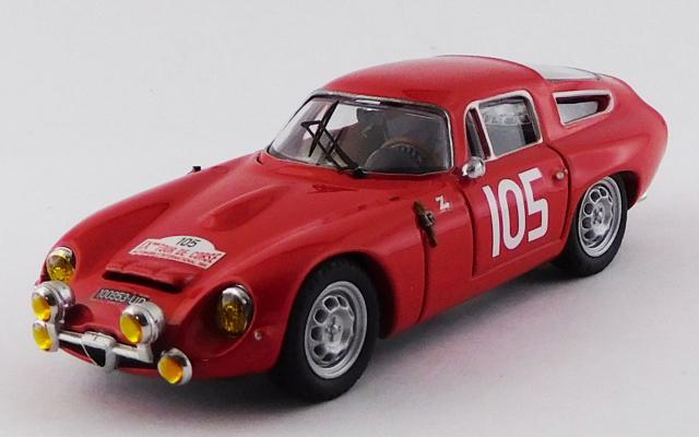 BEST MODEL 1/43 アルファロメオ TZ1 ツール・ド・コルス 1964 #105 Rolland/Augias 2位