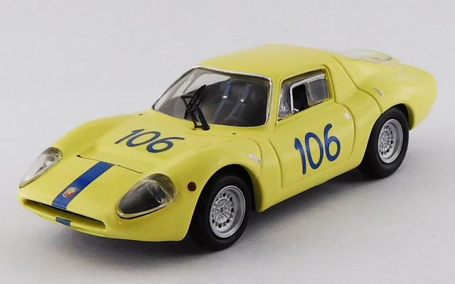 BEST MODEL 1/43 アバルト 1300 OT タルガフローリオ 1968 #106 Virgilio/Panepinto
