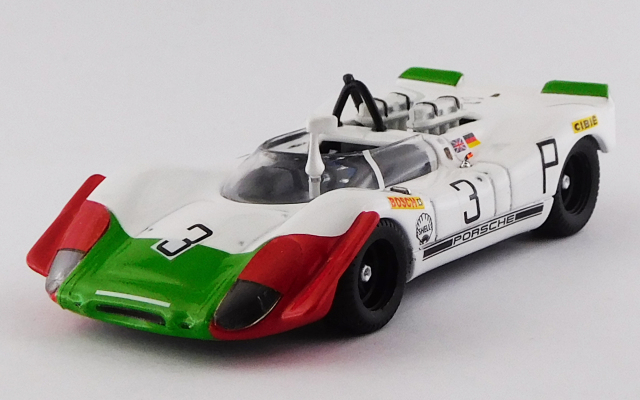 BEST MODEL 1/43 ポルシェ 908/02 ニュルブルクリンク1000km 1969 #3 Elford/Ahrens,Jr.