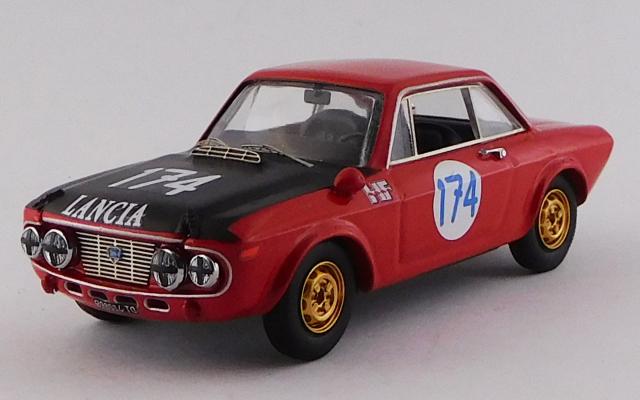 BEST MODEL 1/43 ランチア フルビア HF タルガ フローリオ 1970 #174 Munari /Maglioli GT1.6クラス優勝車