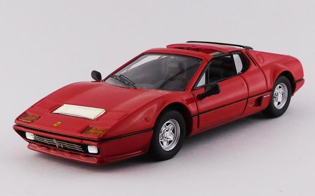 BEST MODEL 1/43 フェラーリ 512 BB タルガ 1981 Autokraftバージョン レッド