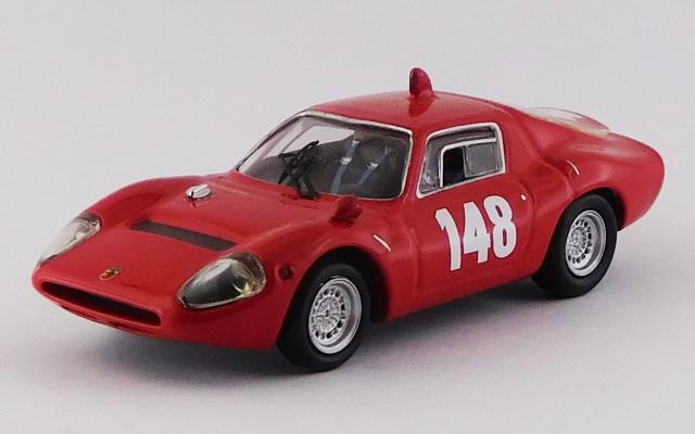 BEST MODEL 1/43 アバルト 1300 OT スイス・マウンテンGP 1967 #148 Toine Hezemans