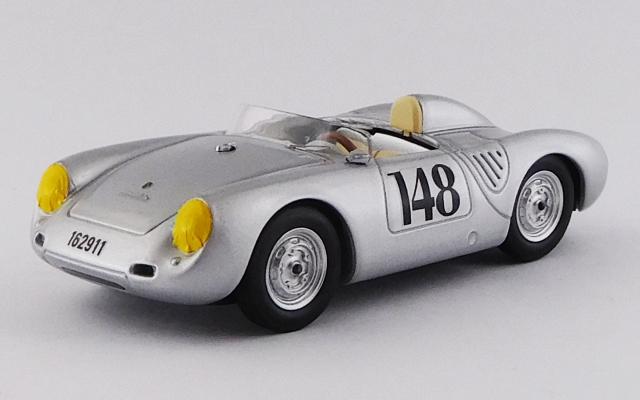 BEST MODEL 1/43 ポルシェ 550 RS アオスタ-グラン・サン・ベルナルド 1957 #148 Wolfgang von Trips